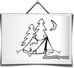 Как поставить палатку в походе