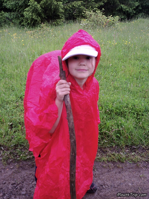 Поход по Карпатам с детьми